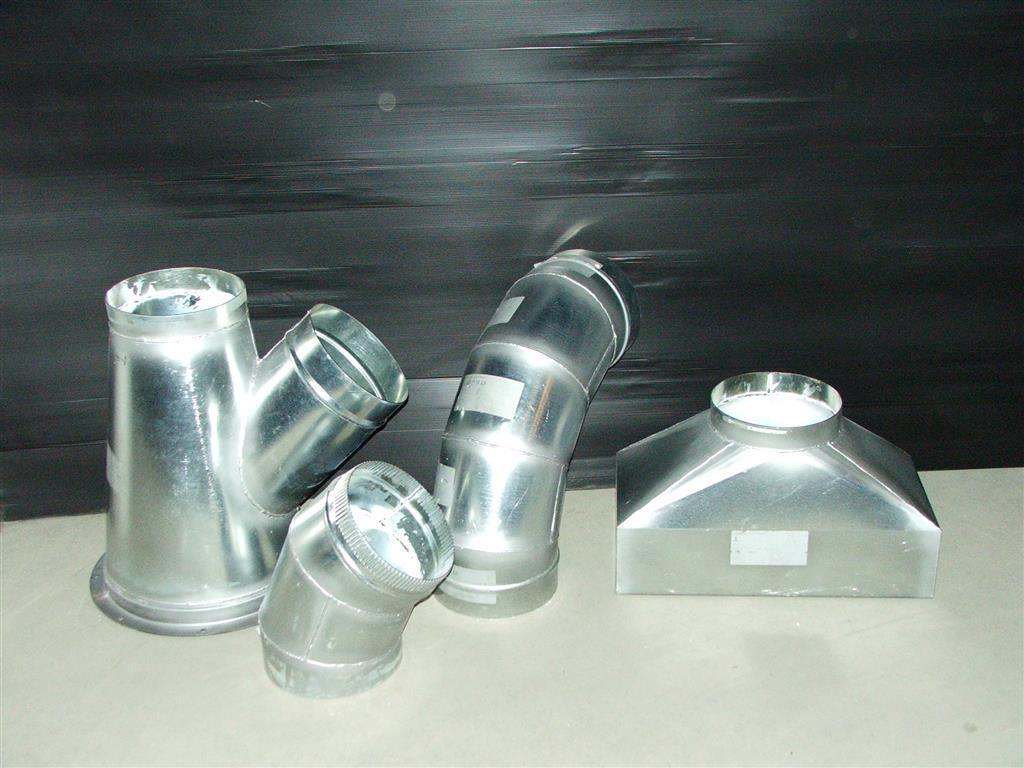 Aluminum spiral ductwork langdon inc