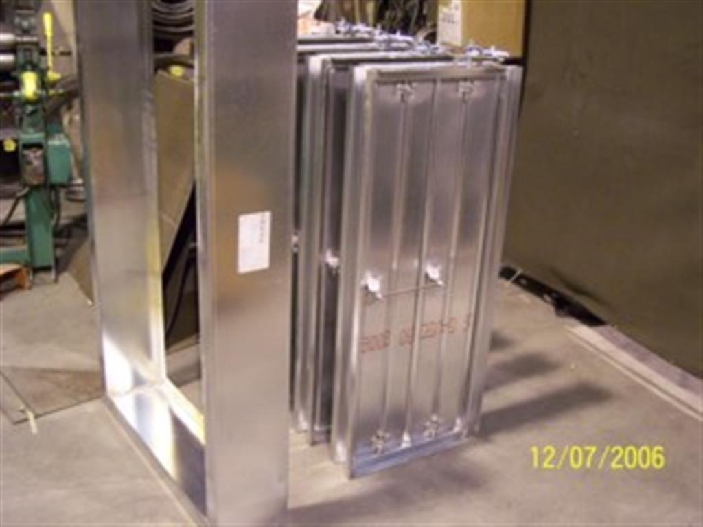 Galvanized Dampers