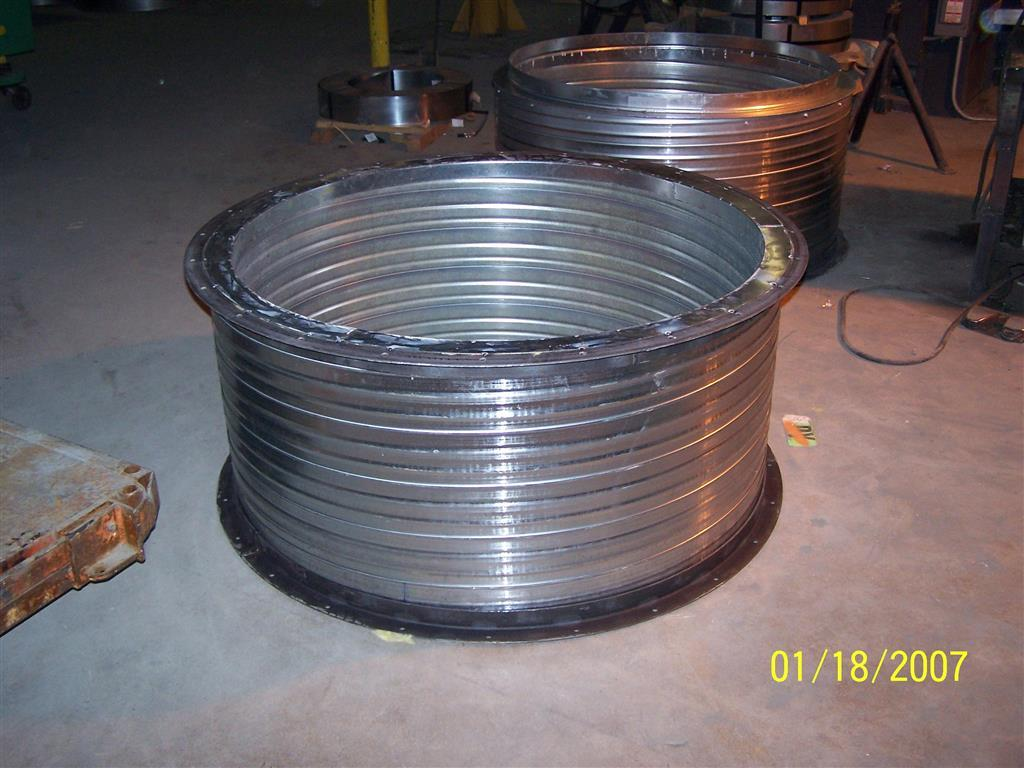 double wall spiral ductwork