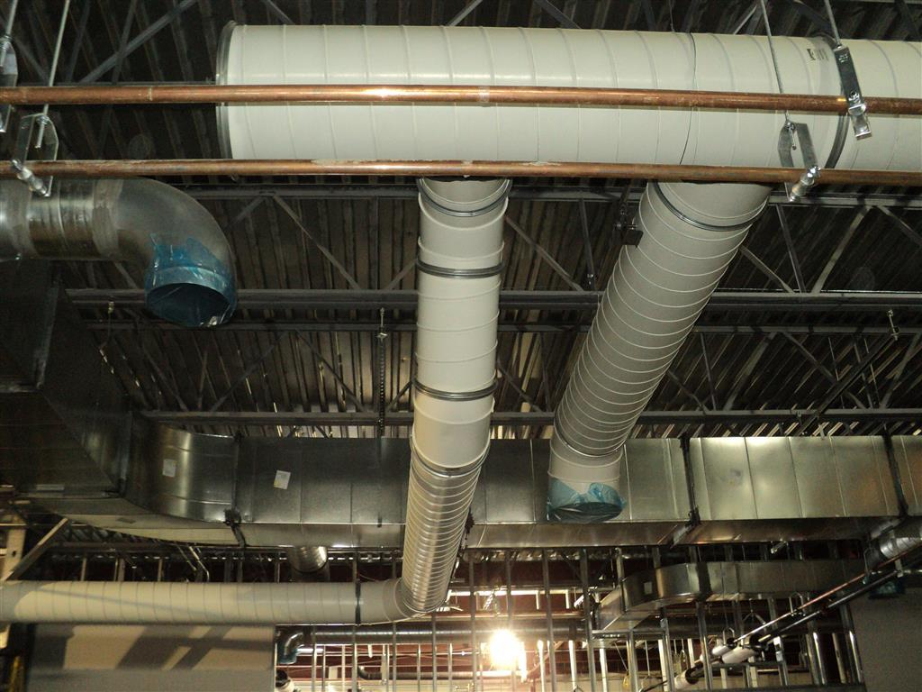 PCD Spiral Ducting