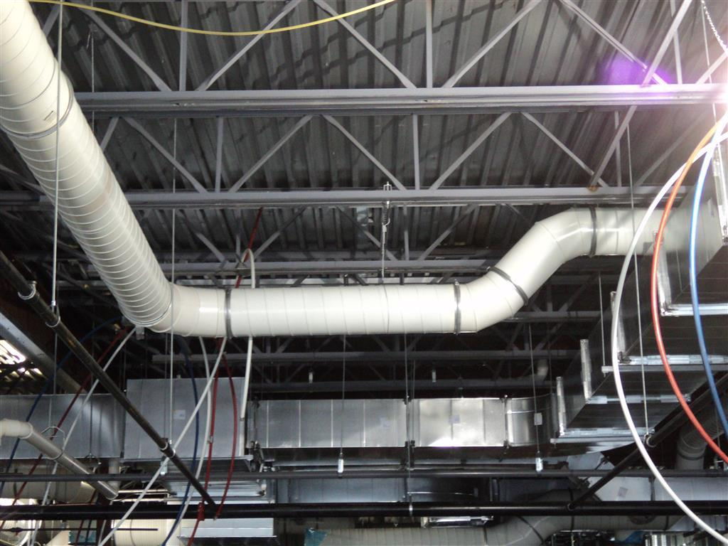 Clamping PCD Ductwork