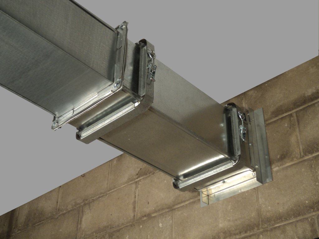 clamp together ductwork